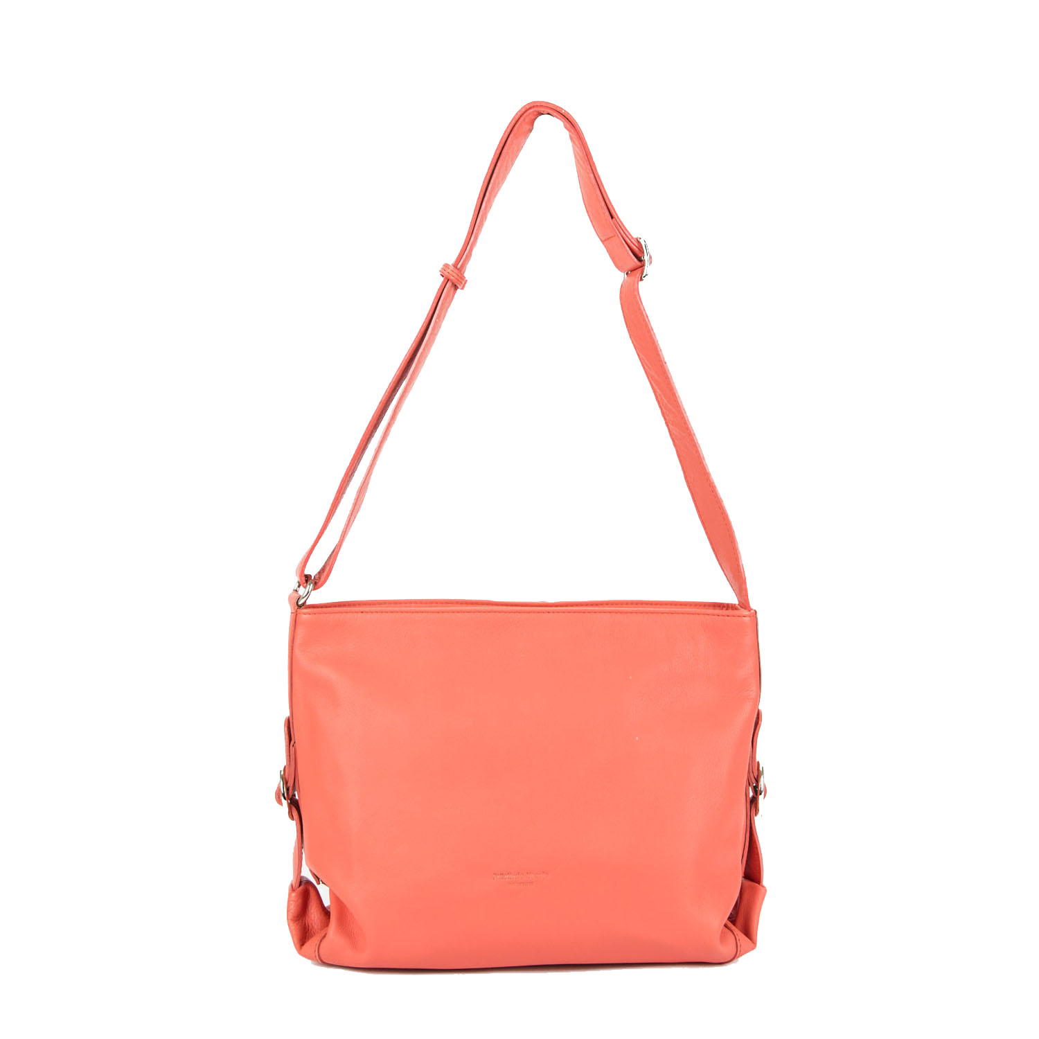 Crossbody Veneta, ajustable coral