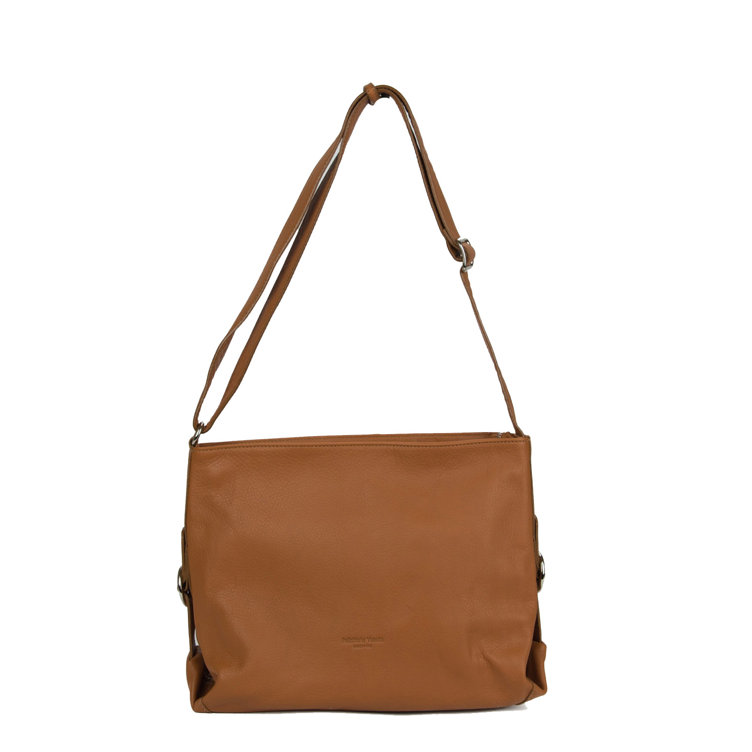 Crossbody Veneta, ajustable camel