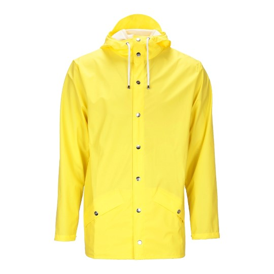 Chaqueta impermeable Rains amarillo