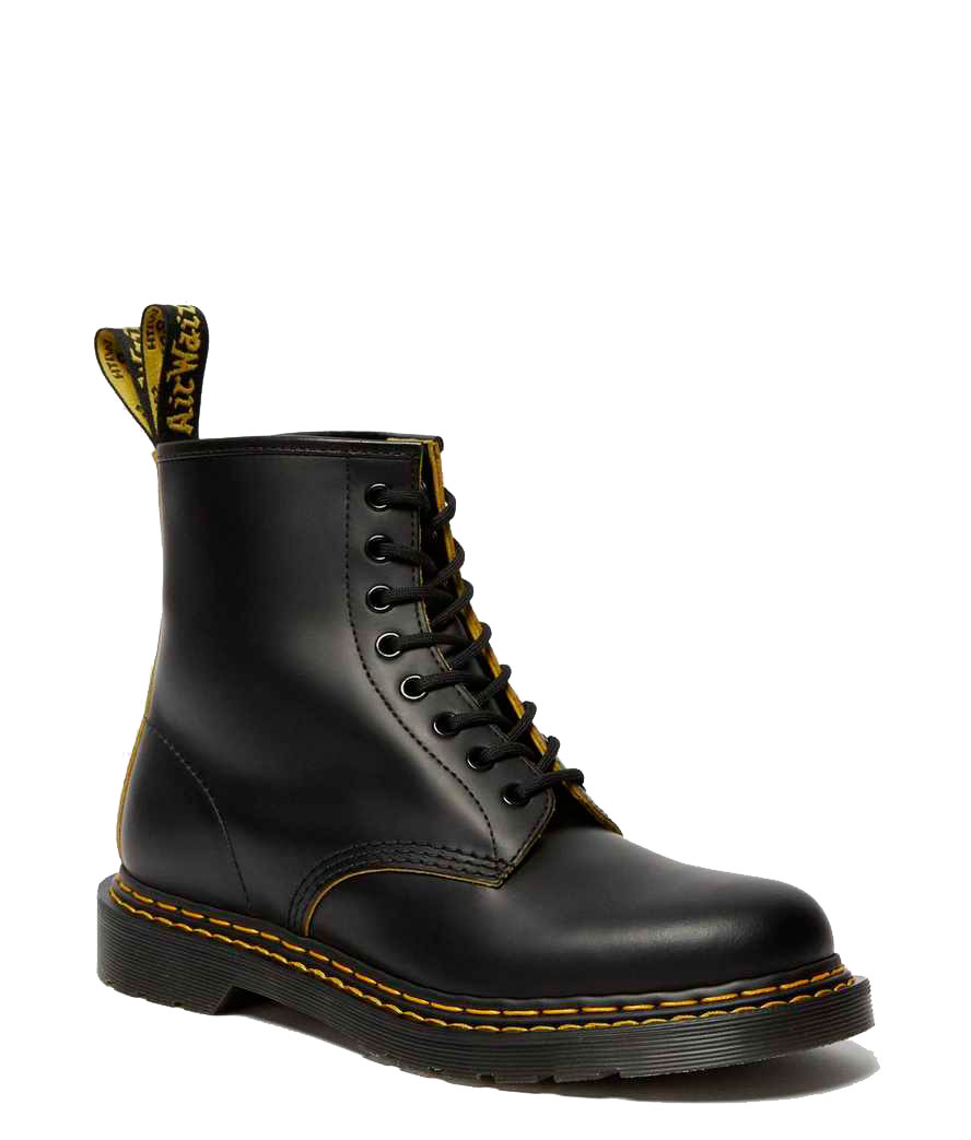Bota Dr.Martens 1460 DS black + yellow
