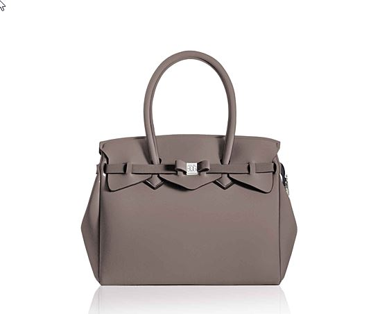 BOLSO MISS PLUS LYCRA TAUPE