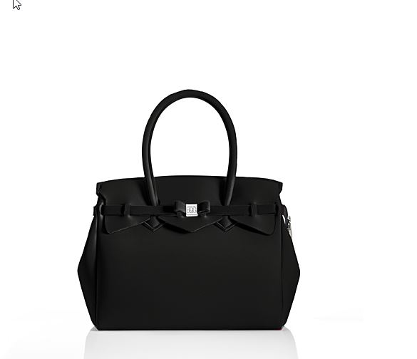 BOLSO MISS PLUS LYCRA NEGRO