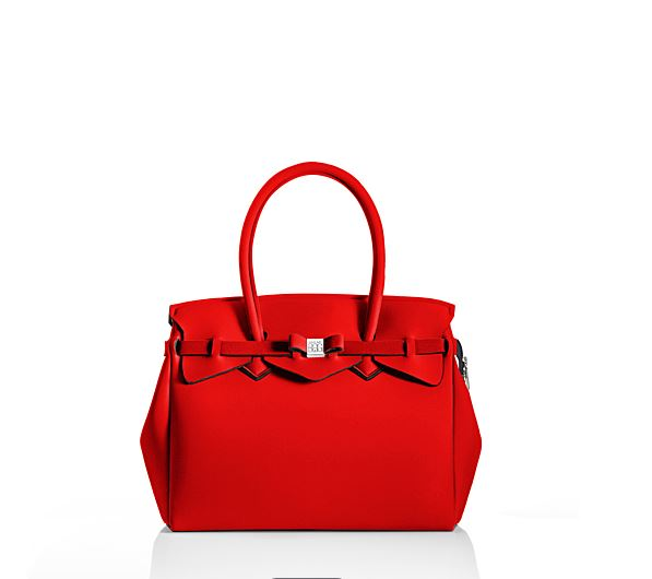 BOLSO MISS PLUS LYCRA ROJO