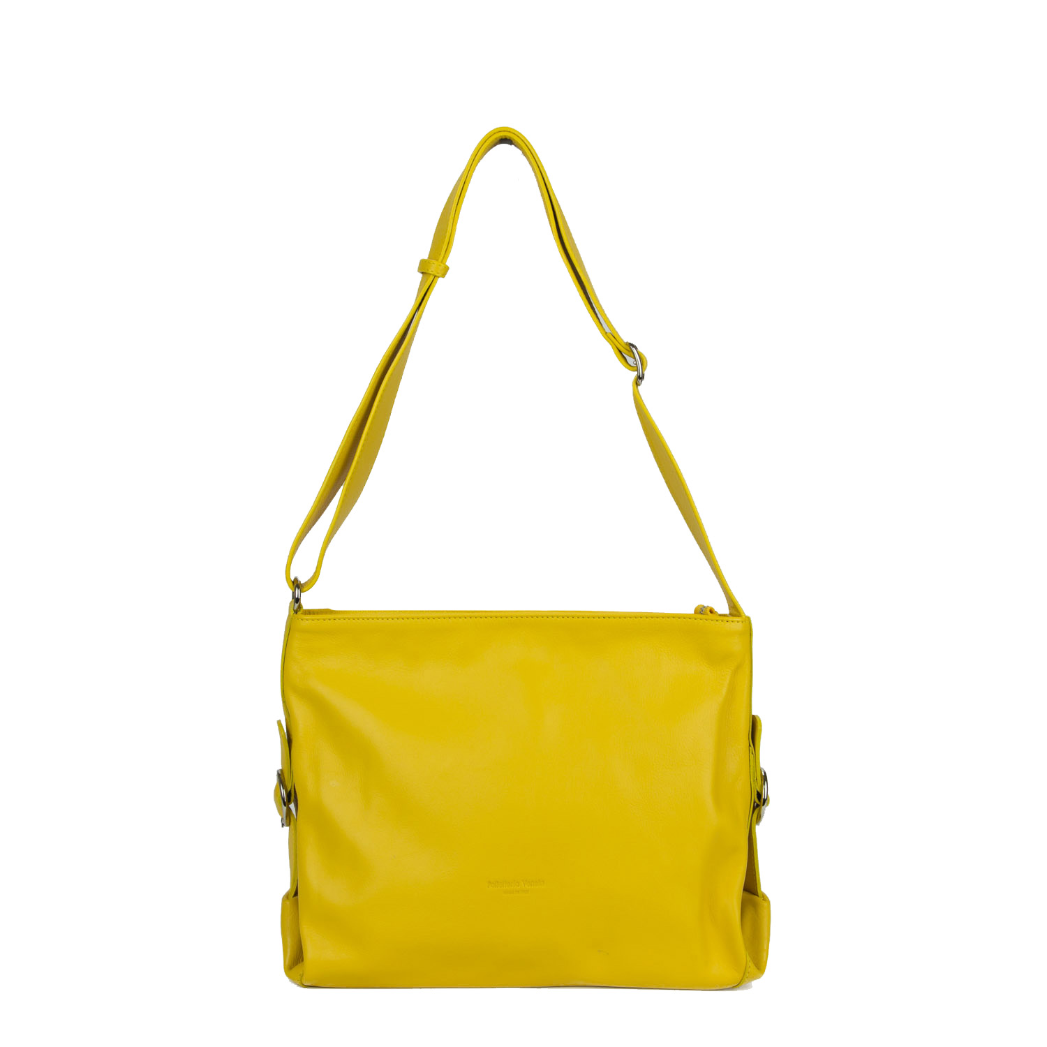 Bolso Veneta crossbody ajustable amarillo