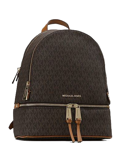 Mochila Michael Kors Logo Brown