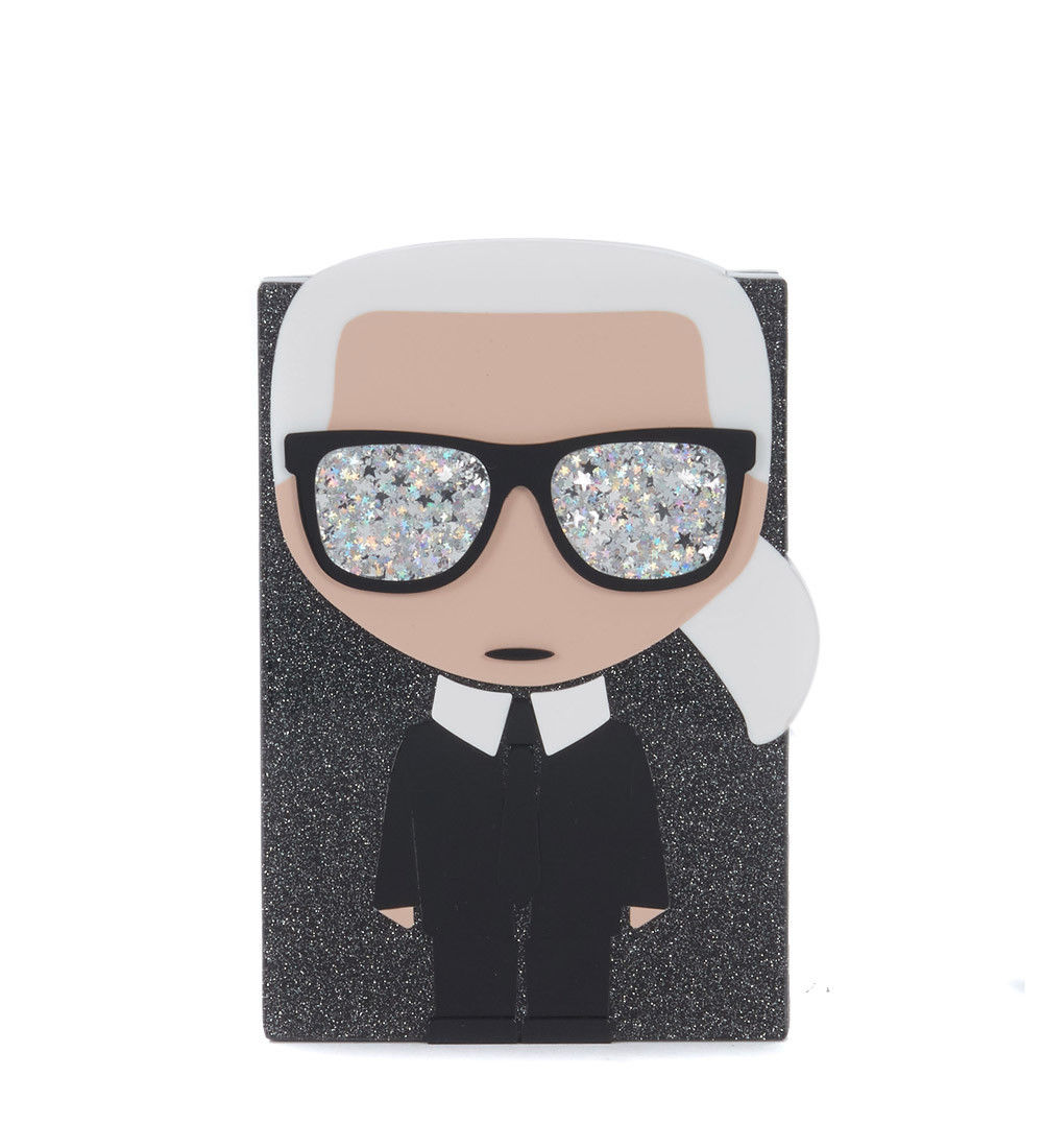 Clutch Karl Lagerfeld iconico
