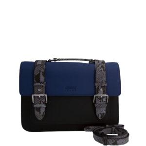 7bccdd04a14c3 ... como por ejemplo este bolso de la colección de eco-piel saffiano que  nos lo mezcla con topo y negro. Ideal para cualquier momento del día